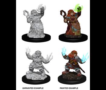 Pathfinder Unpainted Minis Wv7 Female Dwarf Summoner