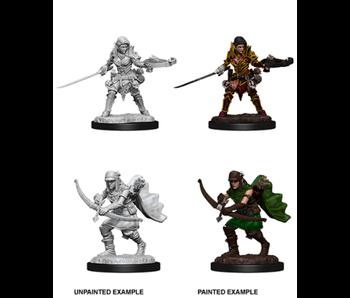 Pathfinder Unpainted Minis Wv7 Female Half-Elf Ranger