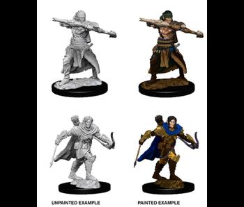 Pathfinder Unpainted Minis Wv7 Male Half-Elf Ranger