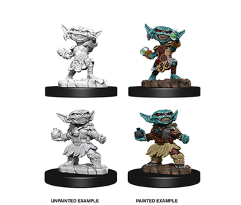 Pathfinder Unpainted Minis Wv9 Female Goblin Alchemist
