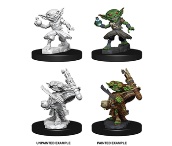 Pathfinder Unpainted Minis Wv9 Male Goblin Alchemist