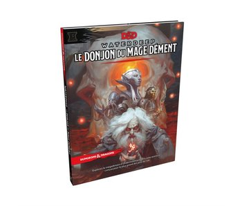 D&D Waterdeep - Le Donjon du Mage Dément Book (Français)