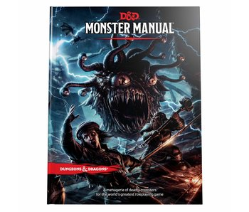 Dungeons & Dragons 5e - Monster Manual (english)