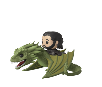 Funko Pop! Tv Game Of Thrones S11 - Jon Snow with Rhaegal