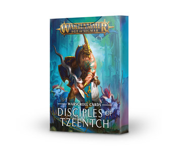 Disciples Of Tzeentch Warscrolls (English)