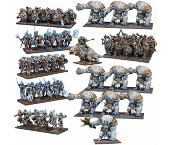 Kings of War Northern Alliance Mega Army