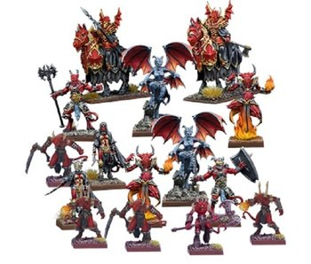 Kings of War Vanguard Abyssal Faction Starter