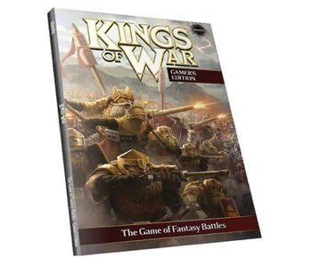 Kings of War Gamers Rulebook 2nd Edition