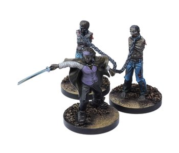 The Walking Dead Michonne Booster