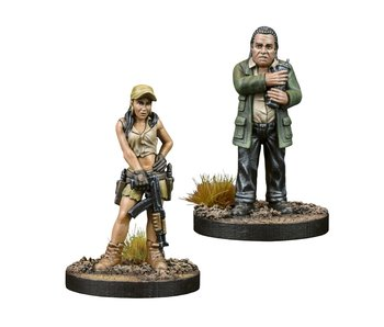 The Walking Dead Rosita And Eugene Booster