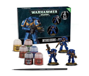 Space Marines Easy to Build + Paint Set Intercessors