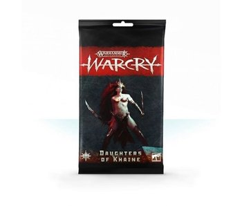 Warcry Daughters of Khaine Cards