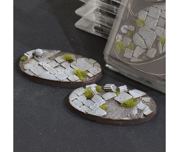 Temple Bases Oval 90mm (2)