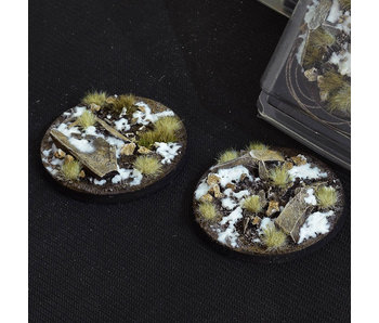 Winter Bases Round 60mm (2)