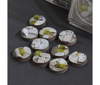 Temple Bases Round 25mm (10)