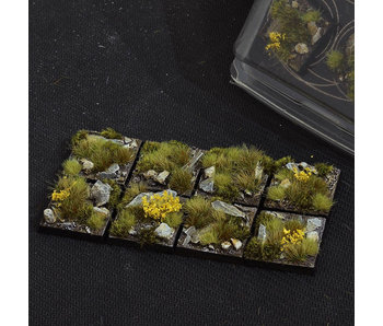 Highland Bases Square 25mm (8)