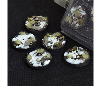 Winter Bases Round 40mm (5)