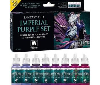 Vallejo: Fantasy Pro 8 Color Set - Imperial Purple (8)