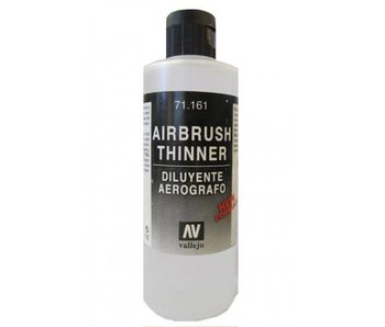 Vallejo: Auxiliary Airbrush Thinner 200ML