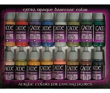 Vallejo: Game Color Extra Opaque Colors (16)