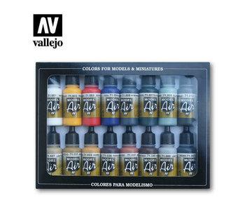 Vallejo: Model Air Basic Color Pack (16)