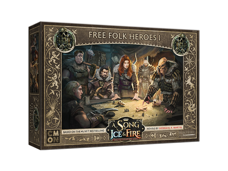 CMON A Song of Ice & Fire - Free Folk Heroes Box #1