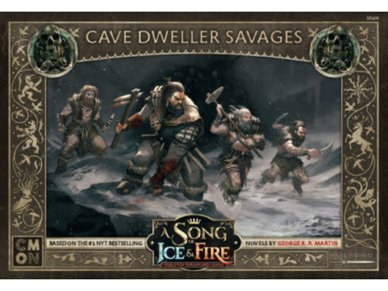 CMON A Song of Ice & Fire - Free Folk Cave Dweller Savages