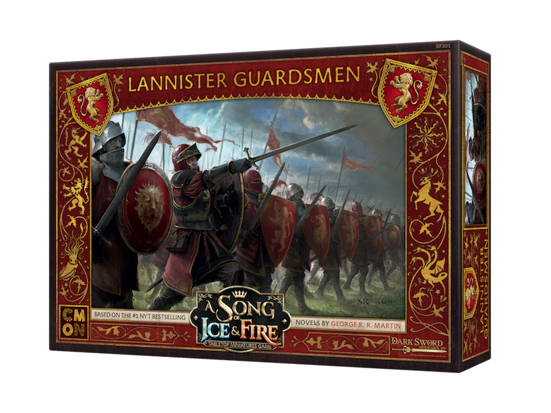 CMON A Song of Ice & Fire - Lannister Guardsmen