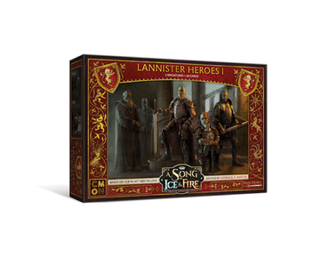 A Song of Ice & Fire - Lannister Heroes Box #1