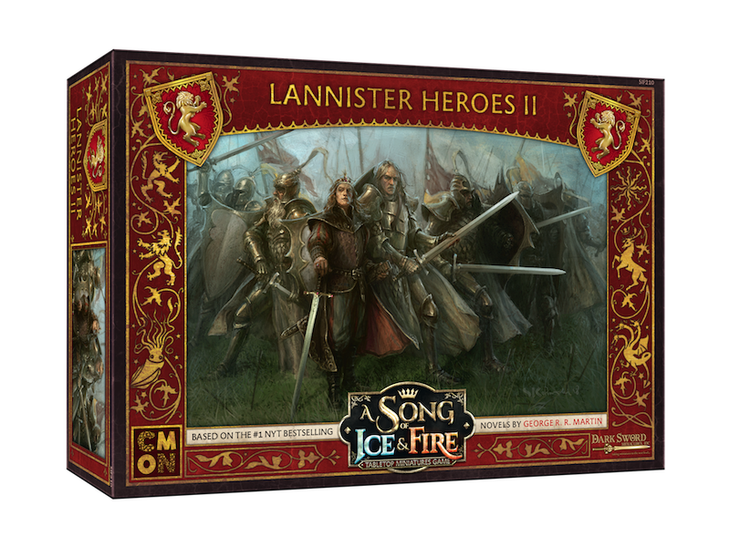CMON A Song of Ice & Fire - Lannister Heroes Box #2