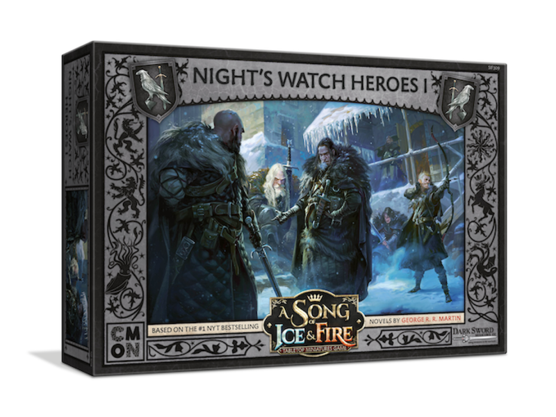 CMON A Song of Ice & Fire - Night's Watch Heroes Box #1