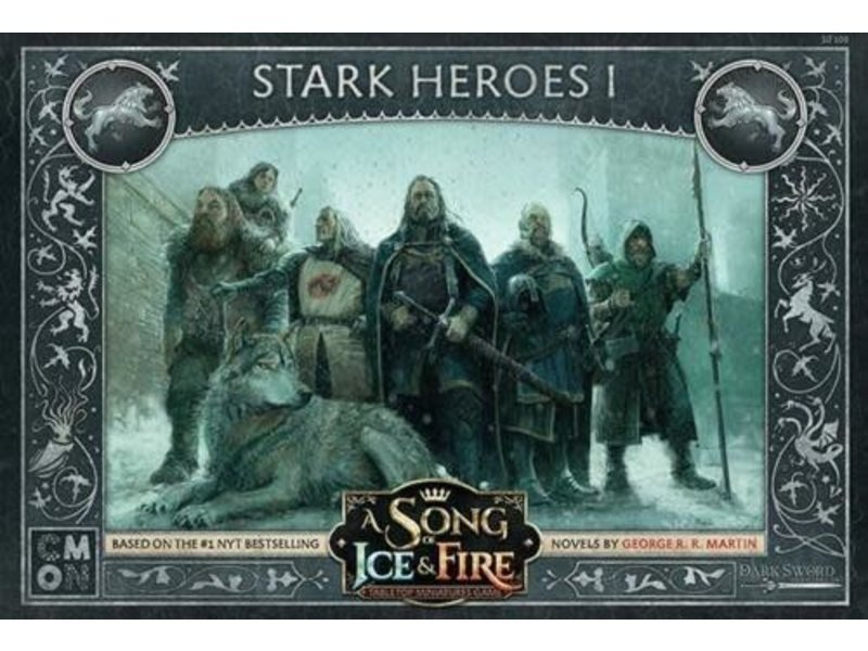CMON A Song of Ice & Fire - Stark Heroes Box #1