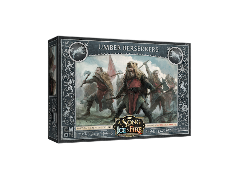 CMON A Song of Ice & Fire - Stark Umber Berserkers