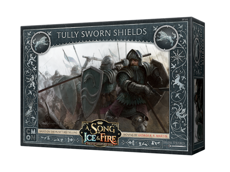 CMON A Song of Ice & Fire - Tully Sworn Shields