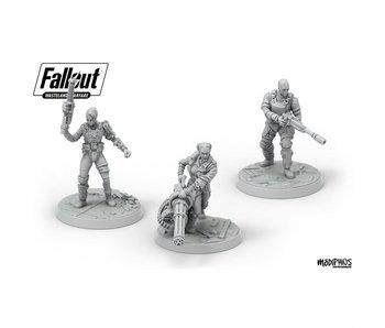 Fallout: Wasteland Warfare - Ack Ack, Sinjin & Avery
