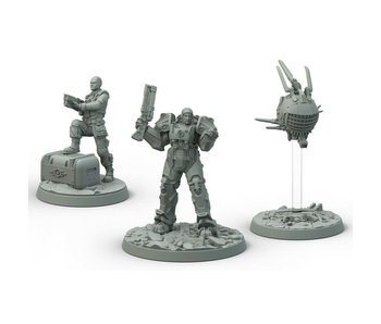 Fallout: WW - Brotherhood of Steel Knight Captain Cade, Paladin Danse