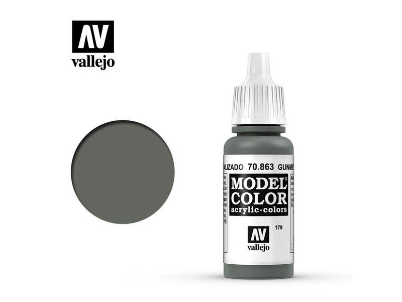 Vallejo Gunmetal Grey (70.863)