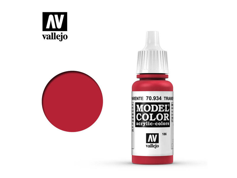 Vallejo Transparent Red (70.934)
