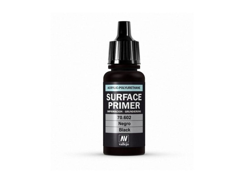 Vallejo Vallejo Surface Primer Black (70.602)
