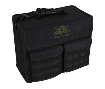 Battle Foam PACK 432 MOLLE - Vertical Standard Load Out (BLACK)