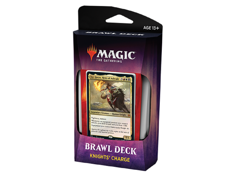 Magic The Gathering Brawl Deck - Knights' Charge