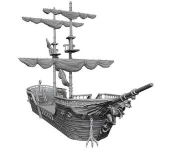 D&D Unpainted Minis The Falling Star Ship