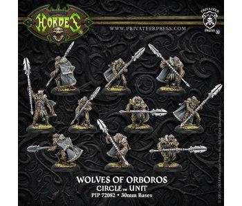 Circle Orboros Wolves Orboros / Reeves (10) (Plastic) PIP 72082