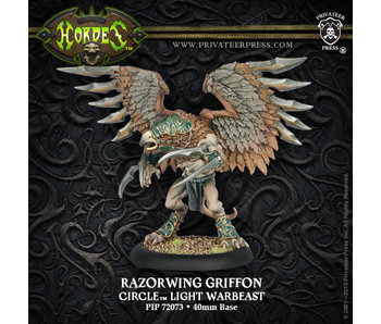 Circle Orboros Razorwing Griffon Light Warbeast (Plastic)