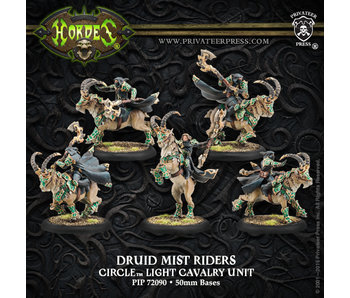 Circle Orboros Druid Mist Riders Unit (Plastic)