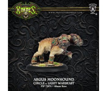 Circle Orboros Argus Moonhound Light Warbeast (Plastic)