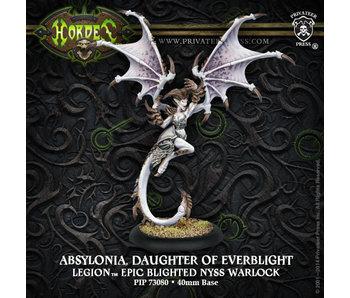 Legion of Everblight Absylonia, Daughter Everblight Epic Warlock