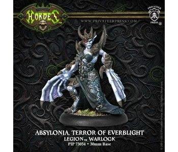 Legion of Everblight Absylonia, The Terror Warlock