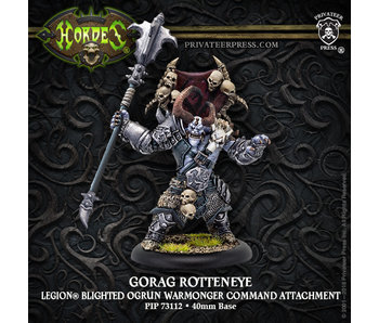 Legion of Everblight Gorag Rotteneye Character Solo
