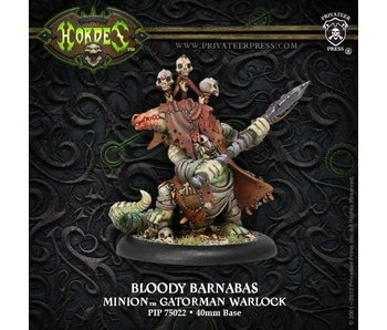 Minions Bloody Barnabas Gatorman Warlock